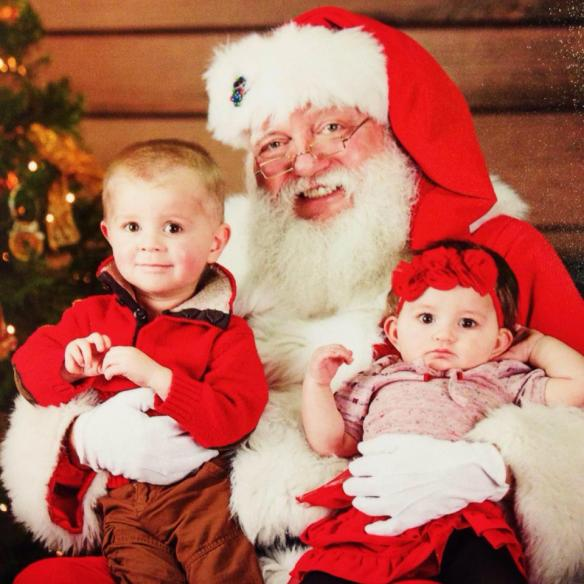 Image result for past and present pictures of children and santa at christmas pictures